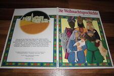 Moira Butterfield -- die WEIHNACHTSGESCHICHTE // Weihnachts-Bilderbuch 1997
