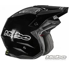 HEBO 2016 CASCO HELMET ZONE 4 NERO BLACK MOTO TRIAL SCOOTER JET TG SIZE TG XL