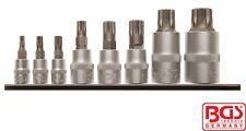 "BGS Tools 8 Piece Bit Socket Set XZN 3/8"" 5105"