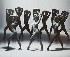 Dieter Blum Dance Photo Print Poster 48x40 Male Female Nude Dancers Ballett B&W
