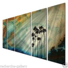Megan Duncanson Tree Sun Metal Wall Art, Modern Home Decor, Wall Sculpture