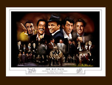 THE RAT PACK MONTAGE PRINT