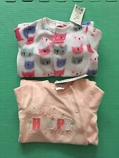 BNWT Baby Girl Sleepsuits Playsuits Babygrows 3-6 Months