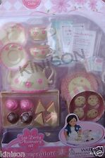 "Our Generation 18"" Doll Tea Party Accessory Set Cupcakes Food ~ ORIGINAL SEALED"