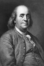 New 5x7 Photo: American Founding Father and Statesman Benjamin Franklin