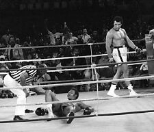 1974 BOXING MUHAMMAD ALI vs GEORGE FOREMAN RUMBLE IN THE JUNGLE 8x10 PHOTO
