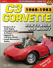 C3 Corvette 1968-1982: How to Build and Modify Book~system upgrades info~NEW!