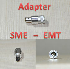 Adaptador EMT Cartridge - > SME headshell also ortofon Type a or C-Made in Japan -