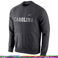 $75 NIKE North Carolina Tar Heels HYBRID FLEECE Sweatshirt Jersey ADULT MENS (L)