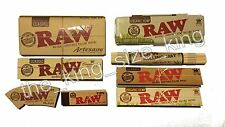 Raw King Size Rolling Papers And Kingsize Tin Holder, Tips And Mat Paper Set