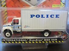 GreenLight NYPD NYC Police Quartermaster Section QMS Delivery Van Truck 1:64