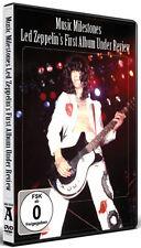 """LED ZEPPELIN €"""" MUSIC MILESTONES FIRST ALBUM - DVD - REGION 2 UK"""