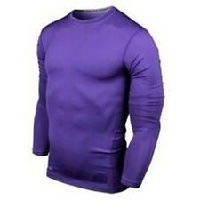 Mens Compression Under Armour Base Layer Thermal Tights Shirt Tops Gym T-Shirts