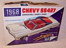 Vintage MPC 1968 Chevy SS 427 Convertible Model Kit! Sealed Bags!