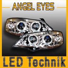 Angel Eyes Scheinwerfer DE Linse Opel Astra G chrom