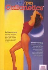 CALLANETICS AM PM TONING DVD NEW CALLAN PINCKNEY SEALED BARRE STYLE WORKOUT