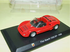 FIAT ABARTH 1000 SP Rouge 1966 HACHETTE sous blister