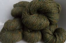 600g CASHALAINN GENUINE DONEGAL TWEED 100% MERINO KNITTING WOOL - 6 SKEINS