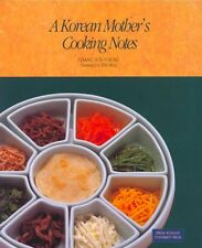 A Korean Mother's Cooking Notes Paperback Full Range of Cook Book Korean Cuisine