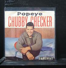 "Chubby Checker - Popeye The Hitchhiker / Limbo Rock VG+ 7"" Vinyl 45 1962 P-849"