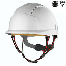 JSP EVOlite Skyworker white industrial climbing safety helmet hard hat