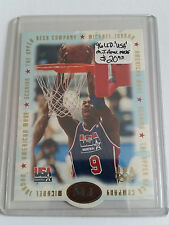 1996 Upper Deck USA Michael Jordan American Made #M1 Michael Jordan/Scoring