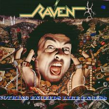 """RAVEN """" NOTHING EXCEEDS LIKE EXCESS """" LP NUOVO  UNDER ONE FLAG  RARO"""