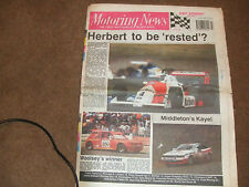 Motoring News 5th July 1989 Cleveland CART Kayel Graphics Rally Word Hot Rods