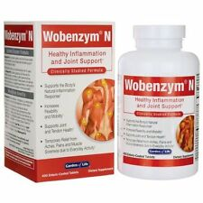 Garden of Life Wobenzym'N Healthy Inflammation and Join 400 Tabs Exp 10-2018