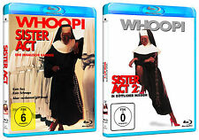 Sister Act 1 + 2 - Whoopi Goldberg - Blu-ray - *NEU*