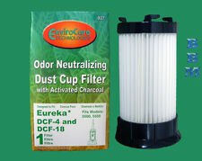 1 Eureka HEPA Filter DCF1 DCF4 DCF18 Model Boss Power Plus Vacuum 61770 62132