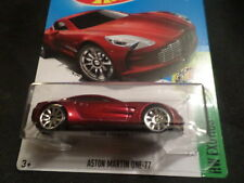 HW HOT WHEELS 2017 HW EXOTICS #7/10 ASTON MARTIN ONE-77 RED HOTWHEELS VHTF