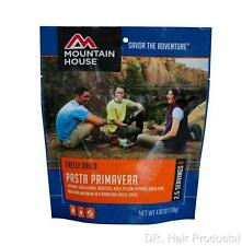 MOUNTAIN HOUSE PASTA PRIMAVERA - 2.5 Servings Pouch - Easy Meal Cooks In Pouch!