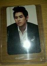 Infinite hoya paradise official photocard Kpop k-pop  shipped in toploader