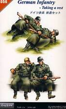 Tristar German Infantry-Taking a rest Pause ruht sich aus - 1:35 Diorama Modell