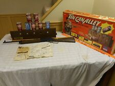 1976 Ideal Chuck Connors Tin Can Alley Electronic light  Rifle Target Game Works