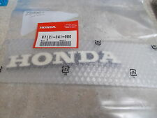 NOS OEM Honda R Fuel Tank Emblem 1972 CB750 Four Street 87121-341-000