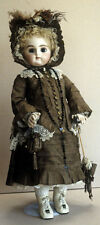 "RARE WARDROBE COSTUME 21"" PAN  FRENCH DOLL DRESS JACKET BOOTS HAT SLIP PATTERN"