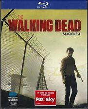5 Blu-ray Box Cofanetto «THE WALKING DEAD ♦ STAGIONE  QUATTRO 04» nuovo 2014