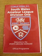 04/10/2003 Corus Steel v Cardiff Corinthians  (Folded). Thanks for viewing our i
