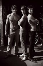 Shirtless Male Frat Boy Hunks In Jeans Boots Cute Guys PHOTO 4X6 Print C104
