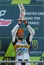 Thomas Luthi Hand Signed 12x8 Photo Interwetten Kalex Moto2 2015 MOTOGP 5.