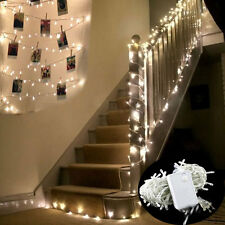 10M 100 LED Indoor WARM WHITE Bedroom Fairy Lights US Plug Tree Party Lamp Decor