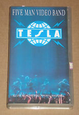 TESLA - FIVE MAN VIDEO BAND - VIDEOCASSETTA VHS