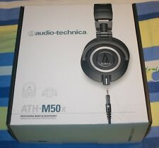 NEW Audio-Technica ATH-M50x Professional Monitor Headphone w/Coiled Straight cab
