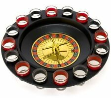 Shot Glass Roulette - Drinking Game Set 2 Balls and 16 Glasses