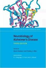 The Neurobiology of Alzheimer's Disease (The Molecular and Cellular Ne-ExLibrary
