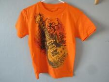 NEW ELECTRIC GUITAR GRAPHIC TEE KIDS SIZE M MEDIUM 68ZB
