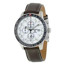 Seiko Flight Chronograph Solar Quartz Mens Watch SSC013P1