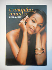 ▓ PLAN MEDIA ▓ SAMANTHA MUMBA : BODY II BODY